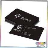 cartão de visita e flyer preço Jardim Helian