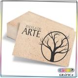 cartão de visita e flyer Vila Dalila