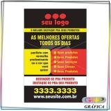 panfleto para inauguração de loja preço Parque São Rafael