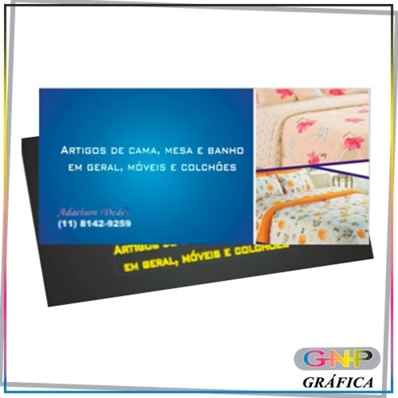 Cartão de Visita Personalizado