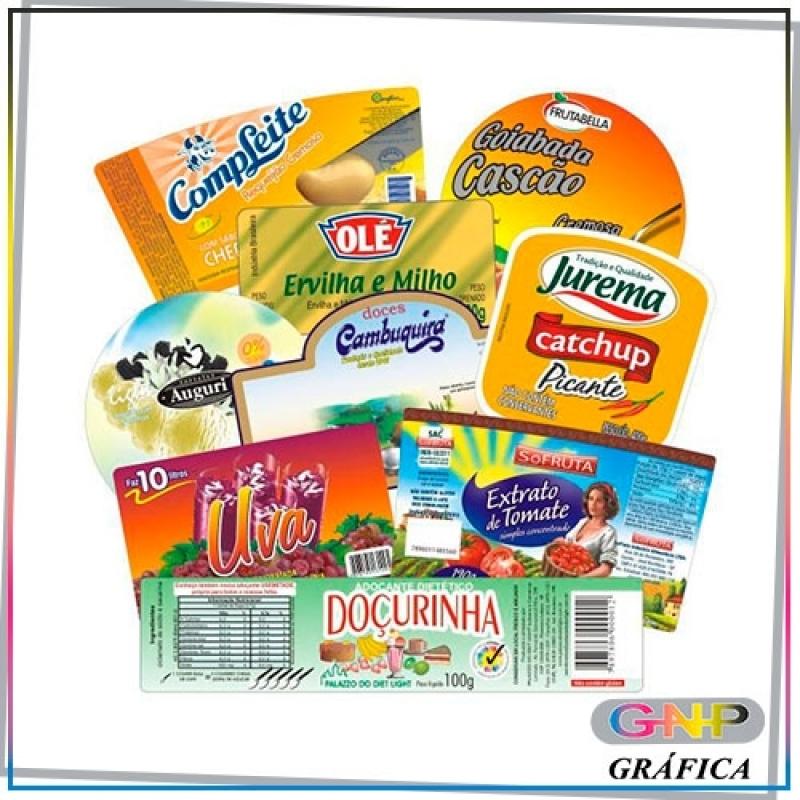 Etiqueta para Alimentos Congelados Preço Sapopemba - Etiqueta para Confecção