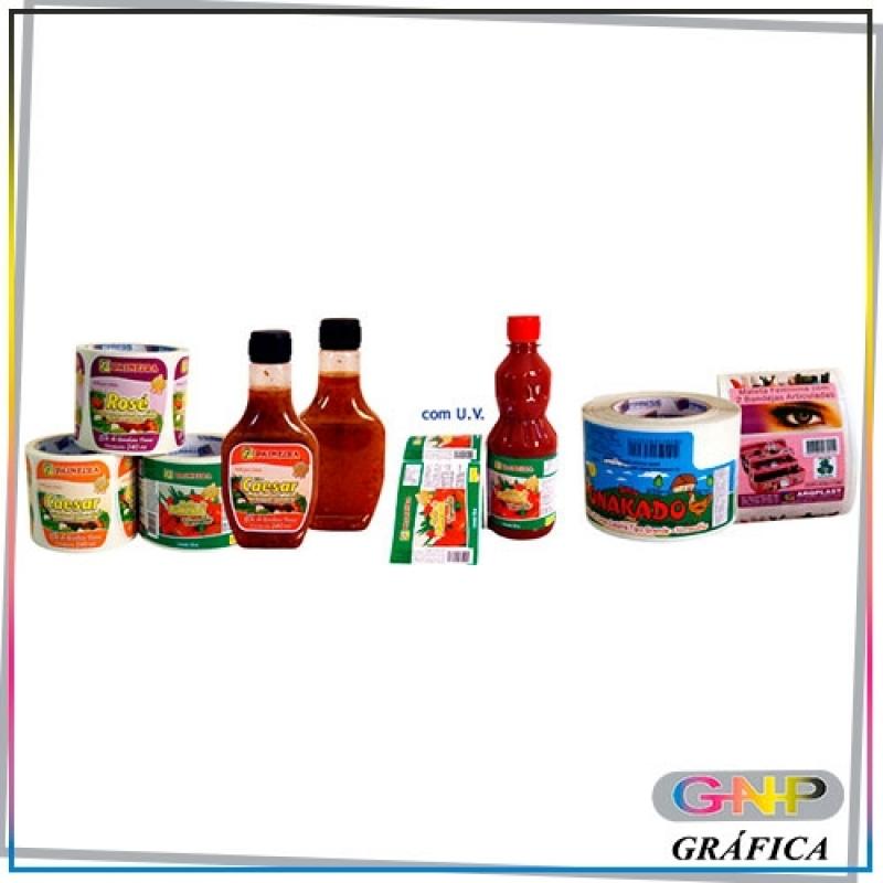 Etiqueta para Alimentos Congelados Valor Belém - Rótulo Adesivo à Prova D'água