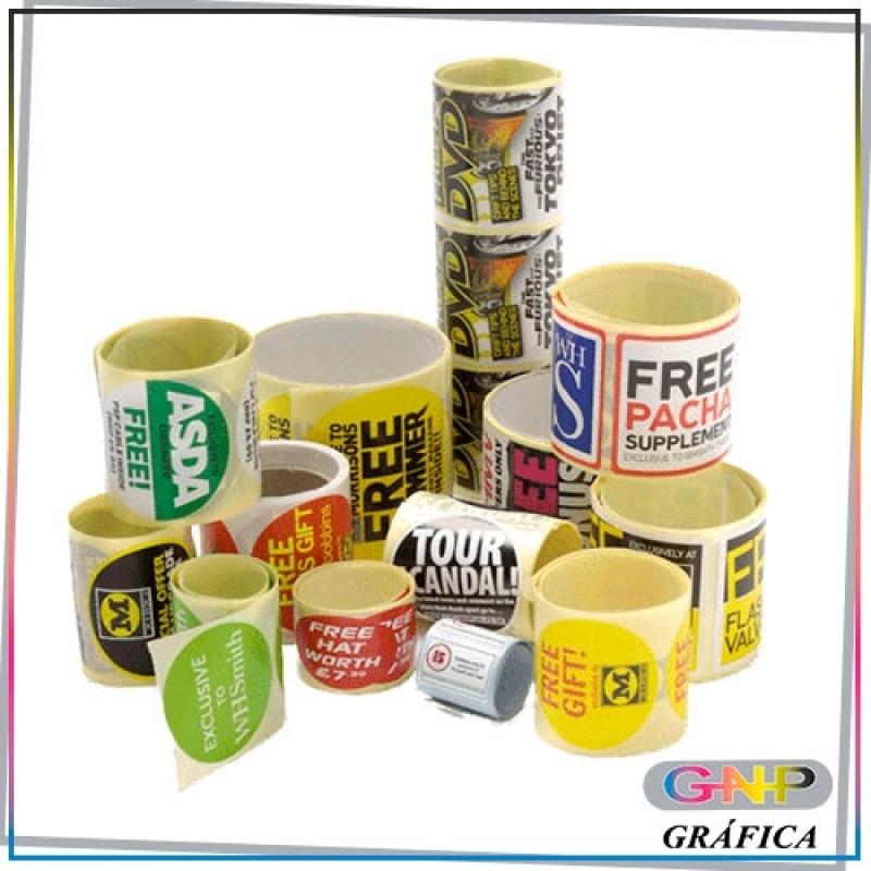 Etiqueta para Embalagem Valor Vila Ré - Rótulo Adesivo à Prova D'água