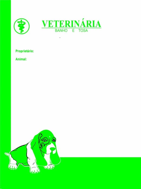 Loja de Bloco Receituário Veterinário José Bonifácio - Bloco de Receituário