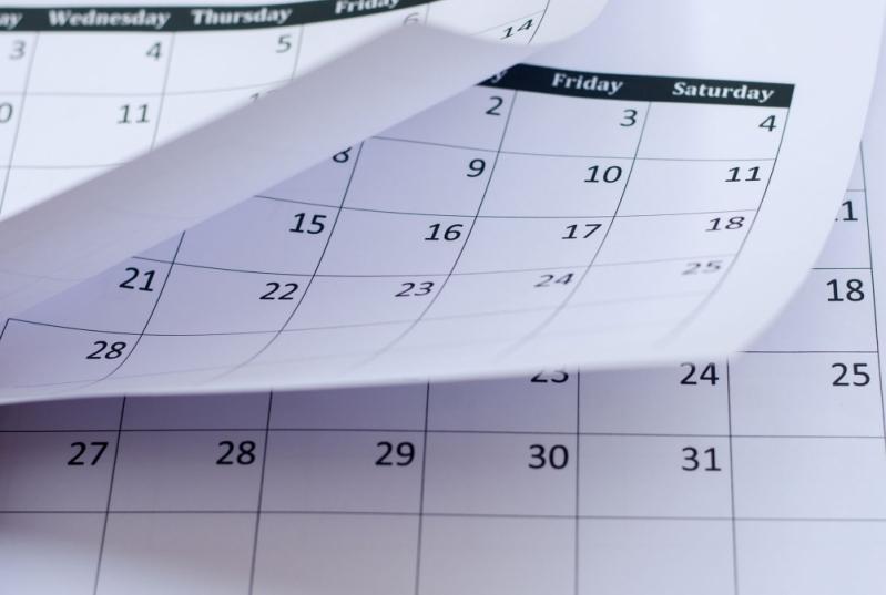 Calendário Folha