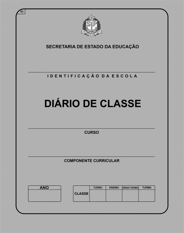 Diário de Classe Escolar