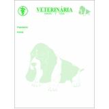 bloco receituário veterinário