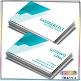 cartão de visita e panfleto preço Vila Carrão