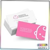 cartão de visitas criativo Aricanduva
