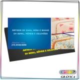 cartão de visita e flyer