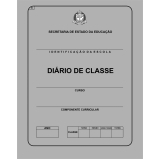 onde comprar diário de classe escolar Vila Gustavo