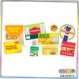 onde encontro etiqueta para alimentos congelados Parque São Jorge