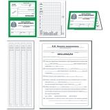 orçamento de impressão de ficha de matrícula escolar Belém