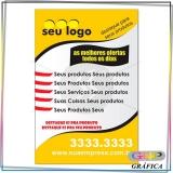 panfleto para almoço preço Jardim Iguatemi
