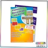 panfleto para doces preço Vila Dalila
