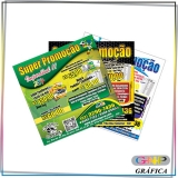 panfleto para editar preço Jardim Santa Terezinha