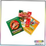 panfleto para hamburgueria preço Itaquera