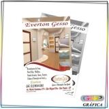 panfleto para inauguração de loja