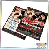 panfletos para doces Parque do Carmo