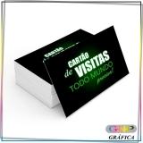 preço de cartão de visita tamanho Artur Alvim