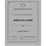 preço de diário escolar infantil Vila Esperança