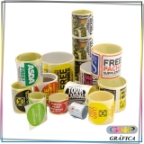 rótulo adesivo para embalagem valor Guaianases